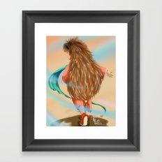 Little Hedgehog Framed Art Print