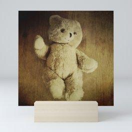 Old Teddy Bear Mini Art Print