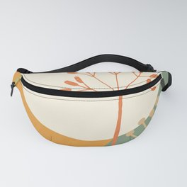 Abstract Plant 03 Fanny Pack