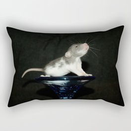Baby dumbo rat Rectangular Pillow