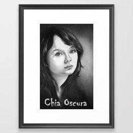 Light & Shade Framed Art Print