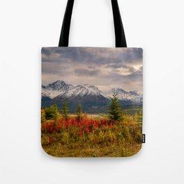 Seasons Turning Tote Bag