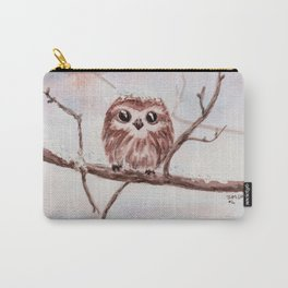 Funny little owl Carry-All Pouch