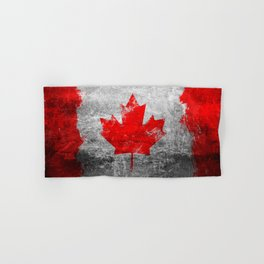 Canada Flag Hand & Bath Towel