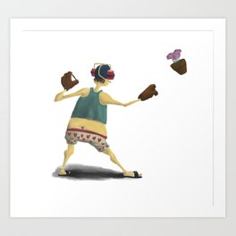 Chicken Teriyaki Art Print