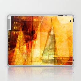 Coming home to harbour Laptop & iPad Skin