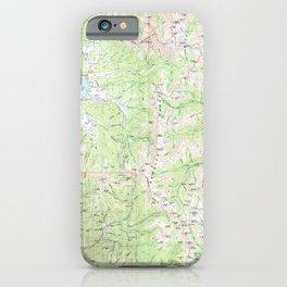 CO Gunnison 233187 1984 100000 geo iPhone Case
