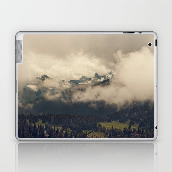 Mountains through the Fog Laptop & iPad Skin