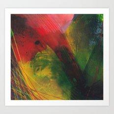 rapid movement Art Print