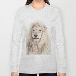 White Lion Long Sleeve T-shirt