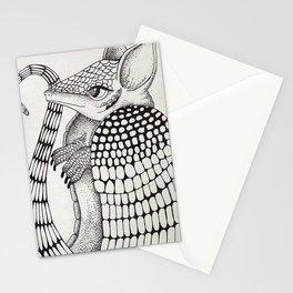 Ossabaw Natives : Armadillo Stationery Cards
