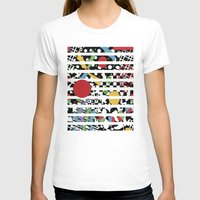 tape T-shirts featuring Ticker Tape by Patricia Shea Designs