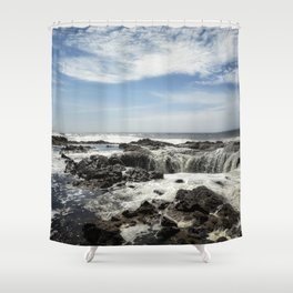 Thor's Well, No. 1 Shower Curtain