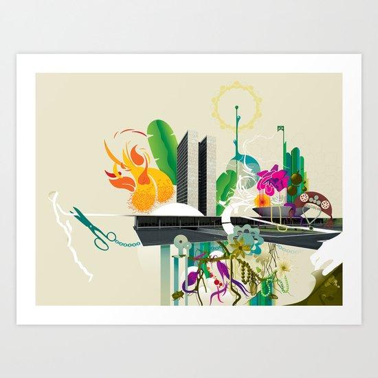 Disorder in Progress Art Print