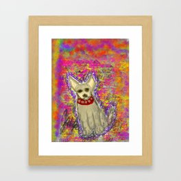 LonelyChi Framed Art Print
