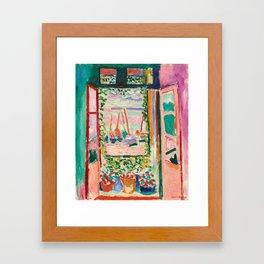 Henri Matisse The Open Window Framed Art Print