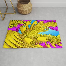AUTOMATIC WORM 2 Rug