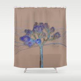 Joshua Tree Acid Wash by CREYES Shower Curtain