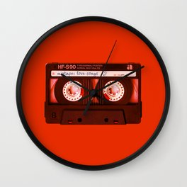 Mixtape: Love Songs Wall Clock