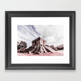 Dzibilchaltun Framed Art Print
