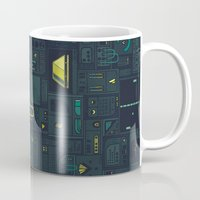 audi Mugs featuring AFK by Hector Mansilla