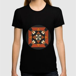 Mandala earth colors T-shirt