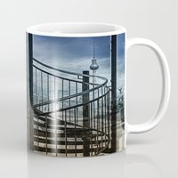 berlin Mugs featuring berlin by lucyliu
