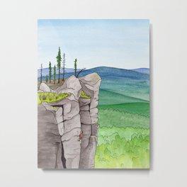 Explorer: The Heights Metal Print