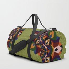Faces Within Mandala Duffle Bag