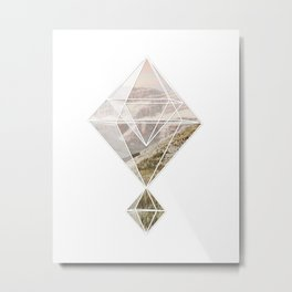Mountain Prism Metal Print
