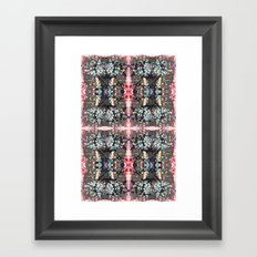OR/WELL:  Windows & Mushrooms Framed Art Print