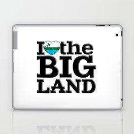 I heart the Big Land Laptop & iPad Skin