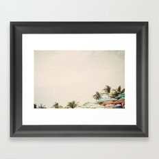Clear Skies Framed Art Print