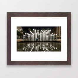 A Time For Reflection Framed Art Print