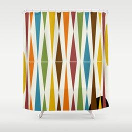 Mid-Century Modern Art 1.4 Shower Curtain