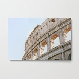 Colosseum in Rome, Italy Metal Print