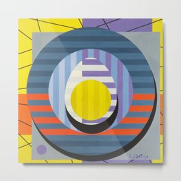 Egg - Paint Metal Print