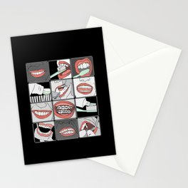 Dentistry vertical Stationery Cards