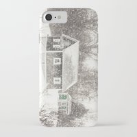 cape cod iPhone & iPod Cases featuring Cape Cod Snowstorm by ELIZABETH THOMAS Photography of Cape Cod