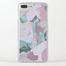 Camouflage XVII Clear iPhone Case
