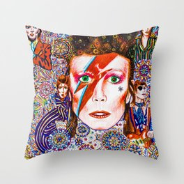 Music of the soul 7 Throw Pillow