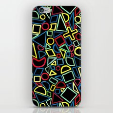 Primary Shapes iPhone & iPod Skin