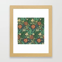"William Morris ""Compton"" Framed Art Print"