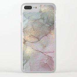 Smoky Quartz II Clear iPhone Case