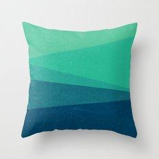 Stripe VIII Minty Throw Pillow