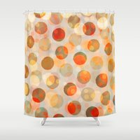 inception Shower Curtains featuring GOLDEN DAYS OF SUMMER by Daisy Beatrice