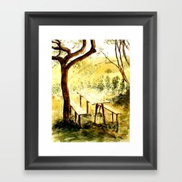 Wineyards Framed Art Print