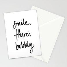 Smile - Bubbly Stationery Cards