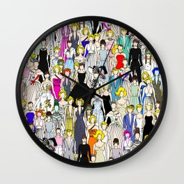 Punks Two Wall Clock