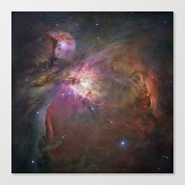 The Orion Nebula by Hubble Space Telescope Canvas Print